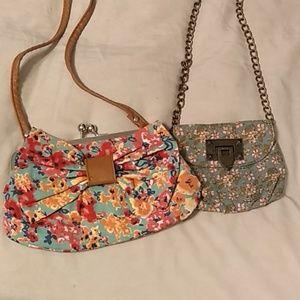 NWOT Set of two crossbody purses